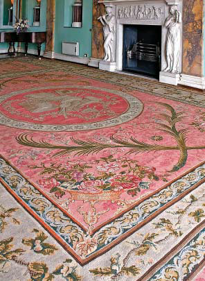 Music Room , Powderham Castle